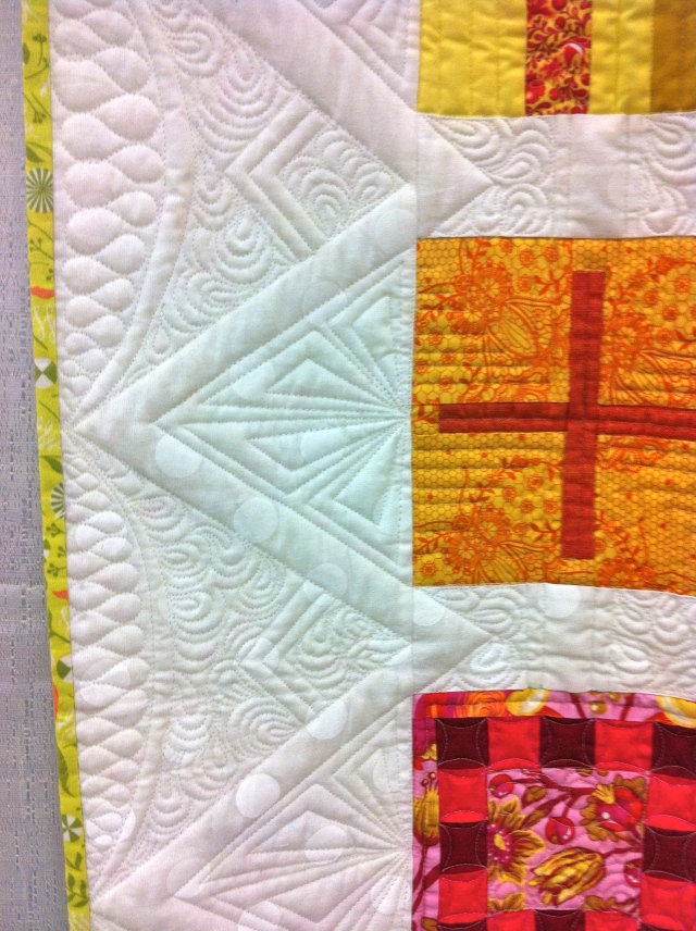 by Tula Pink, amazing quilting by Angela Walters