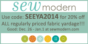sew modern year end promo